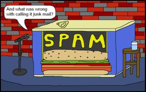 Spam Cartoon