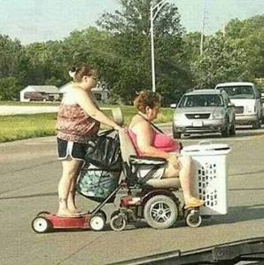 On the way to WallyWorld