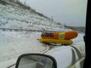 Watch where you put your hot dog!