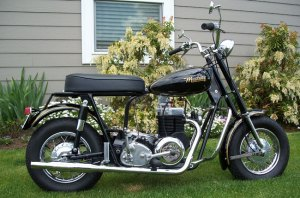"""My first """"hot"""" Mustang motorcycle in 1962"""