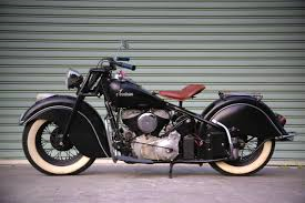 1947 Indian Chief as a young adult