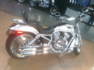 2003 Harley V-Rod: Down sized on Weight, Upsized on power!