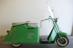 First scooter in the late 1950's.