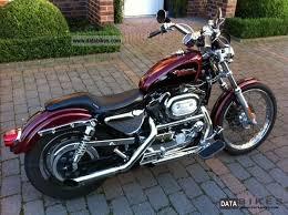1999 Harley Sporty: Down sized.
