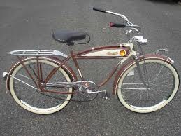 First bicycle in the early 1050's.